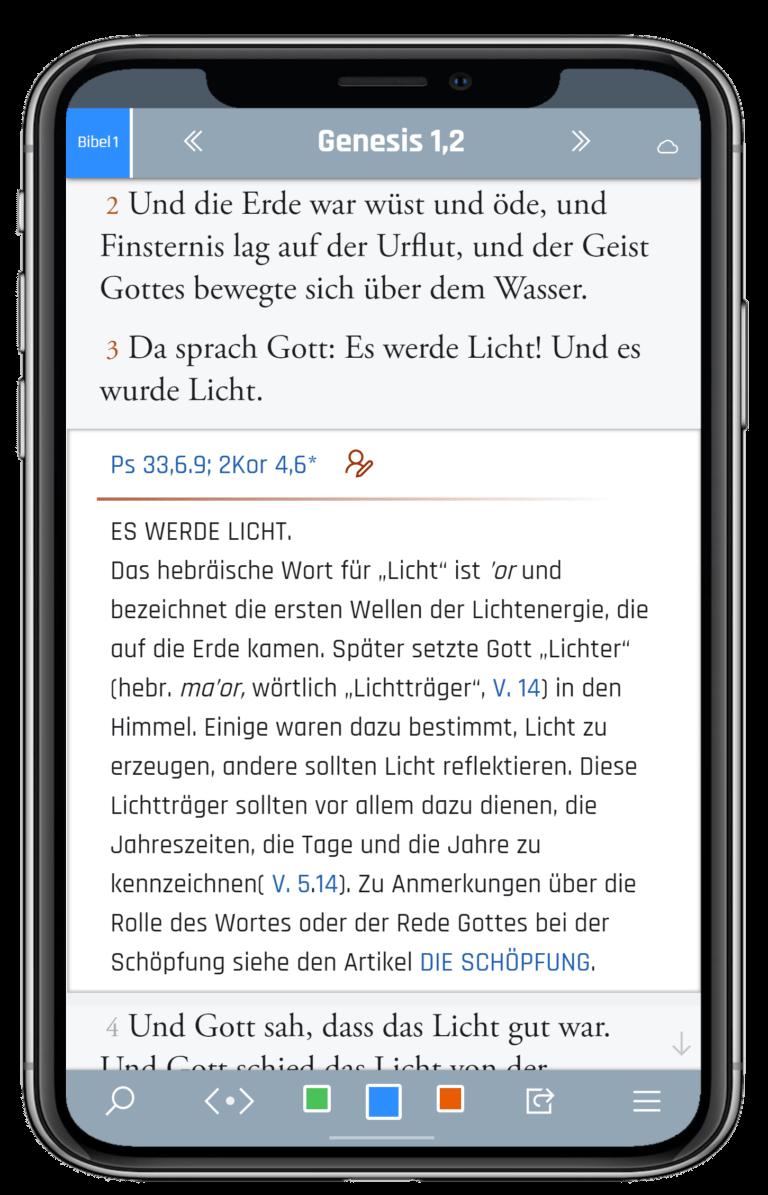 Bibel und Kommentar